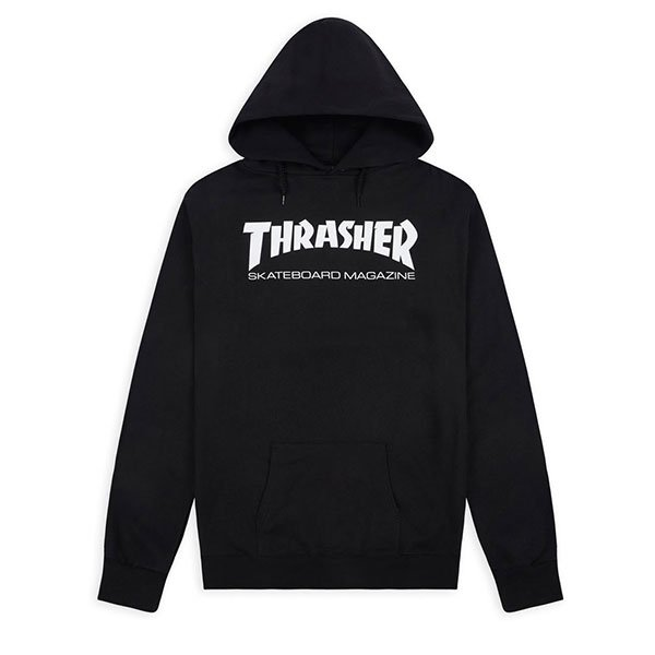 Thrasher Skate Mag Black haka shop
