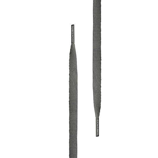 Tubelaces Flat 140 cm Dk. Grey haka shop