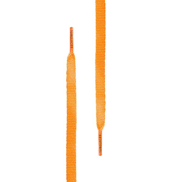 Tubelaces Flat 140 cm Neon Orange haka shop