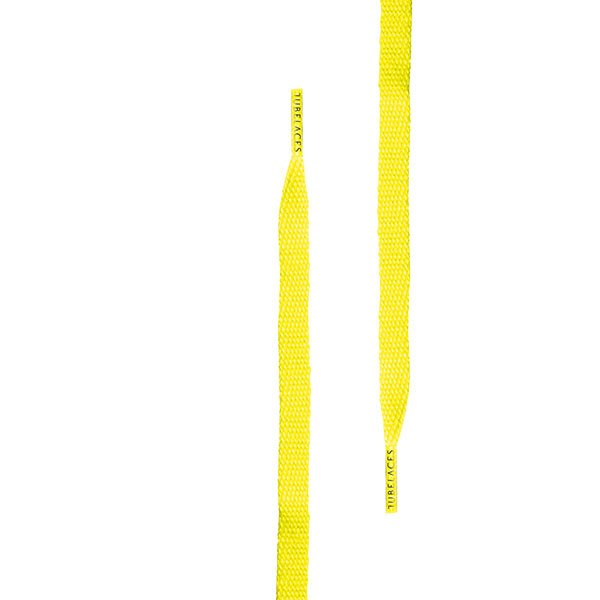 Tubelaces Flat 140 cm Neon Yellow haka shop
