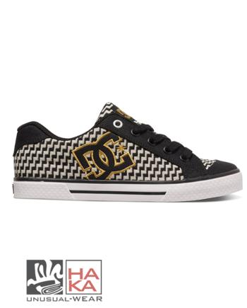 dc shoes chelsea tx se black gold haka shop
