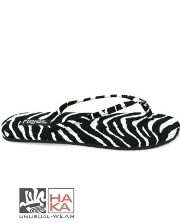 flip flop zebra flojos haka shop