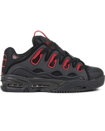 sneakers-osiris-d3-2001-black-black-red