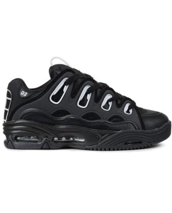 sneakers-osiris-d3-2001-black-white-black