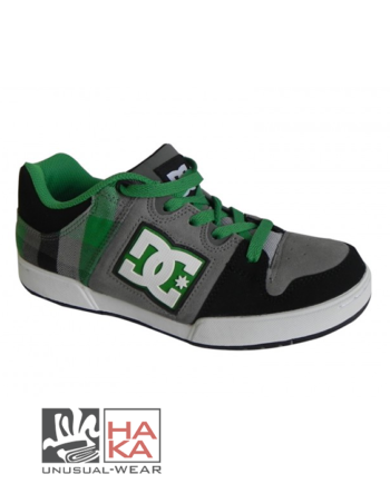 Dc Shoes Turbo 2 Black Green Plaid haka shop