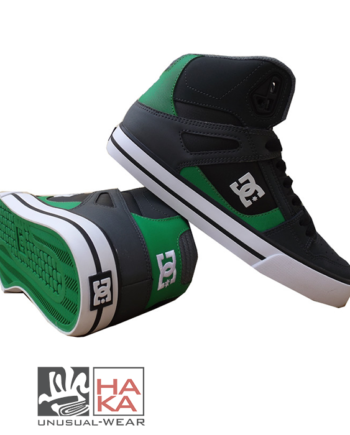 SCARPA ALTA SKATE DC SHOES SPARTAN HIGH WC GREY GREEN haka shop