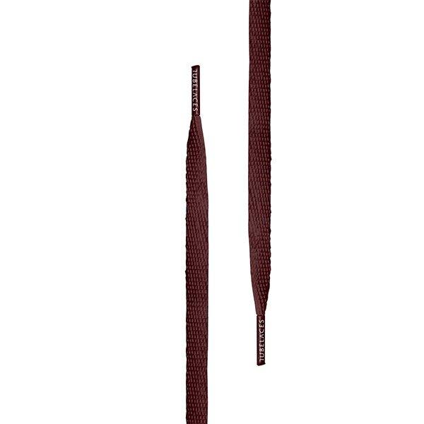 Tubelaces Flat 140 cm Burgundy haka shop