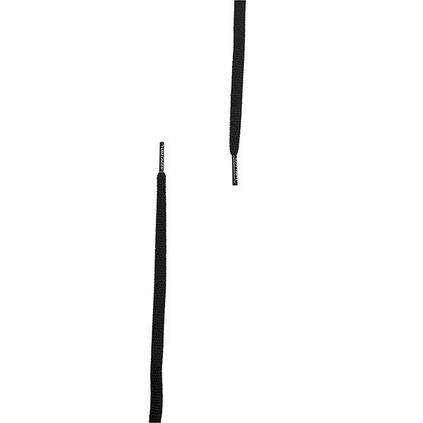 Tubelaces Rope Solid 130 cm Black haka shop