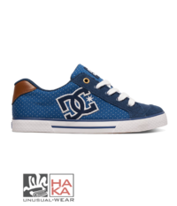 dc shoes chelsea se blue brown haka shop