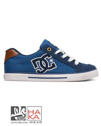 dc shoes chelsea se blue brown haka shop