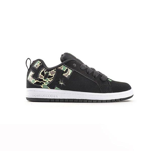 Dc Shoes Court Graffik Se Black Camo haka shop