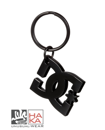 Dc Shoes Star Keychain Black haka shop