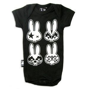 Six Bunnies Rock Bunnies Black haka shop