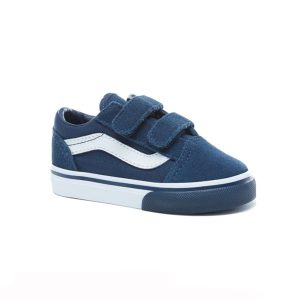 Vans Pop Old Skool V Dress Blues True White haka shop