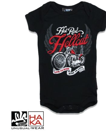 Hotrod Hellcat Live To Ride Black haka shop