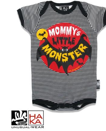 Six Bunnies Mommy s Little Monster Black haka shop