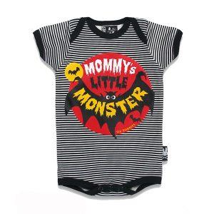 Six Bunnies Mommy's Little Monster Black haka shop