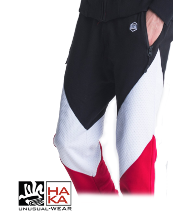 Dolly Noire Victorious Sweatpants Jimmy Black Red White haka shop