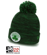 New Era Marl Knit Boston Celtics haka shop