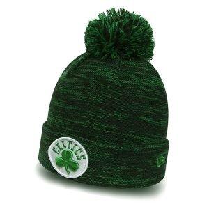 New Era Marl Knit Boston Celtics Green haka shop