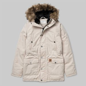 Carhartt Trapper Parka Wall Black haka shop