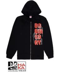 Doomsday Society Idle Hands Zip Black haka shop