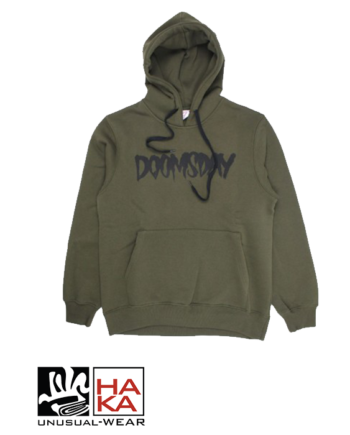 Doomsday Society Logo Army Green haka shop