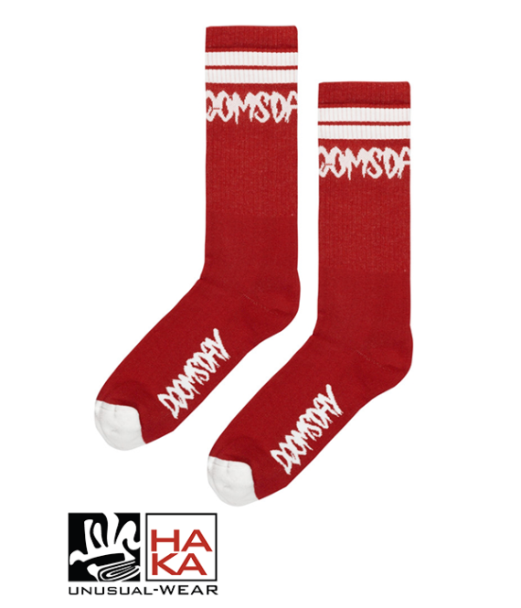 Doomsday Society Logo Burgundy haka shop