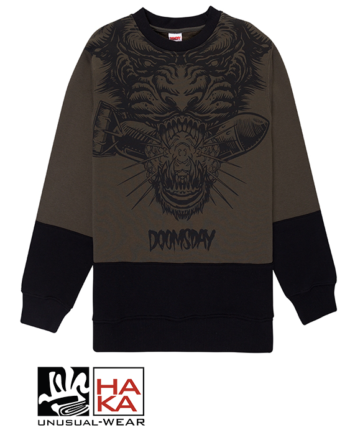 Doomsday Society Panther Army Black haka shop