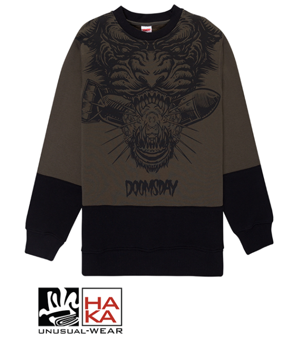 Doomsday Society Panther Army Black haka shop