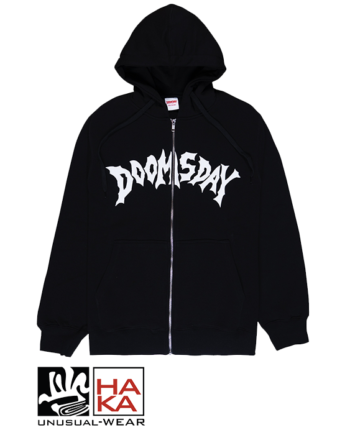 Doomsday Society Swordhammer Zip Black haka shop