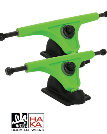 Slant Trucks Magnesium Reverse Kingpin Black Fluorescent Green haka shop