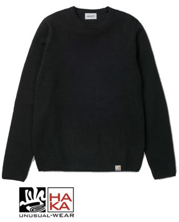 Carhartt Allen Sweater Black haka shop