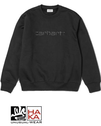 Carhartt Carhartt Sweatshirt Black Black haka shop