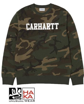Carhartt Carhartt Sweatshirt Camo Laurel White haka shop