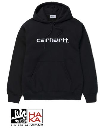 Carhartt Hooded Carhartt Sweatshirt Black haka shop