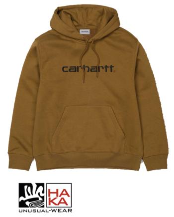 Carhartt Hooded Carhartt Sweatshirt Hamilton Brown Black haka shop