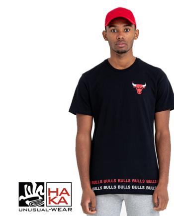 New Era Wordmark Chicago Bulls Black haka shop