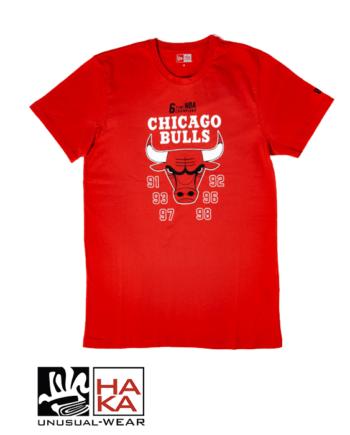 New Era chicago Bulls Team Champion Rojo haka shop
