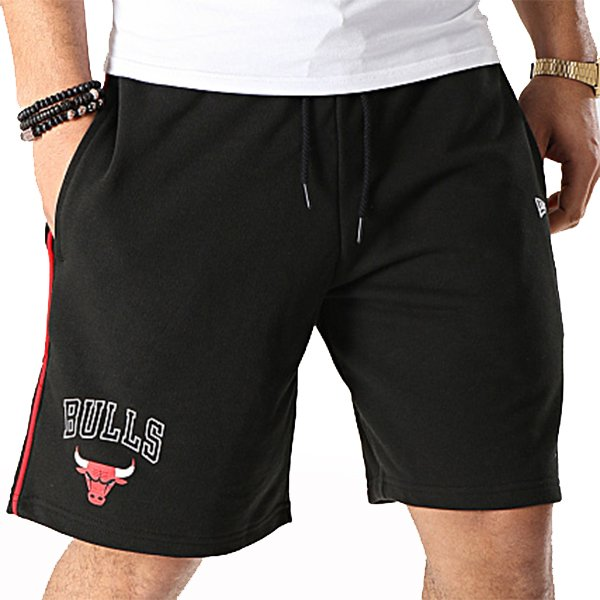 New Era Giogghing Stripe NBA Chicago Bulls Black haka shop