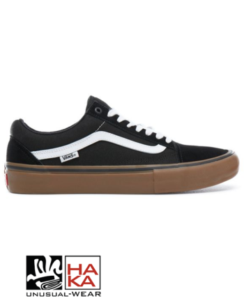 Vans Old Skool Pro Black White Gum haka shop