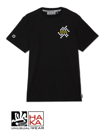 Octopus Checkered Logo Black haka shop