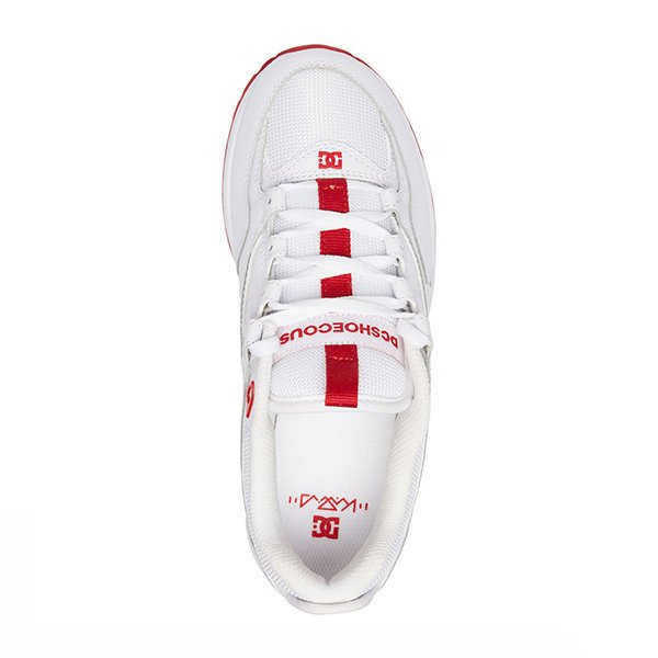 Dc Shoes Kalis Lite White Red haka shop
