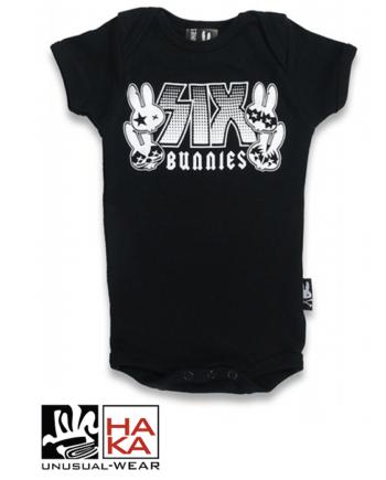 Six Bunnies Rock Group Black haka shop