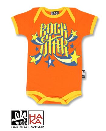 Six Bunnies Rockstar Orange haka shop