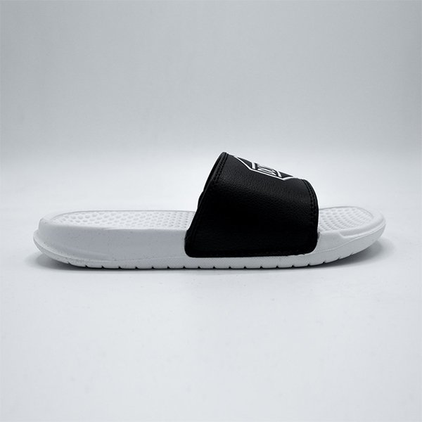 Dolly Noire Black & White Slippers Black White Haka shop