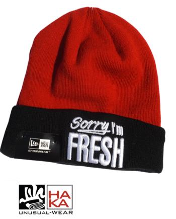 New Era Fresh Sorry I'm Fresh haka shop
