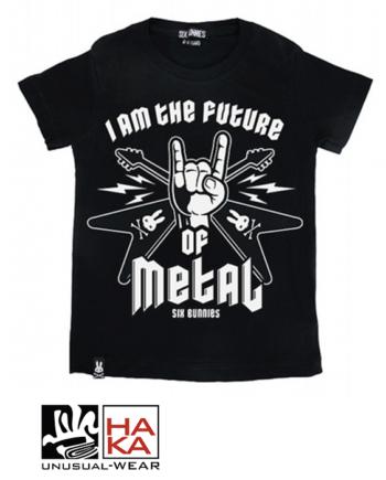 Six Bunnies Future Of Metal Black haka shop