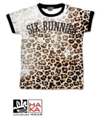 Six Bunnies Leo Leopard haka shop