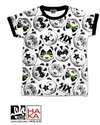 Six Bunnies Panda Black haka shop